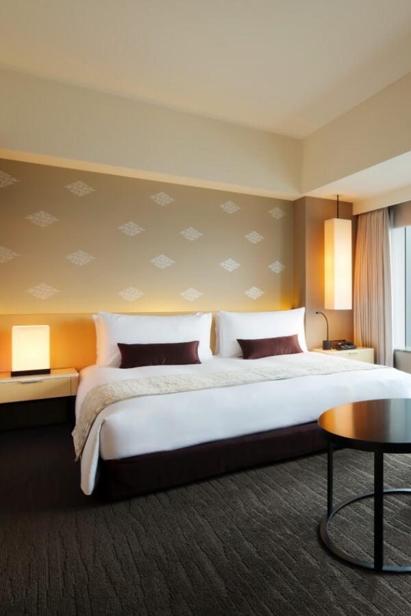 Hotel room of 5 stars hotel in Tokyo